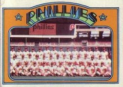 1972 Topps Baseball Cards      397     Philadelphia Phillies TC